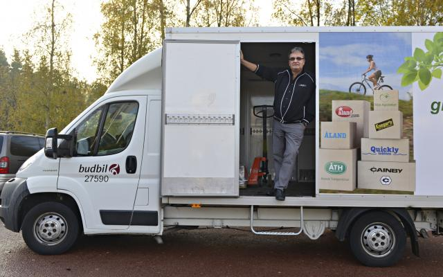 Transporter på Åland